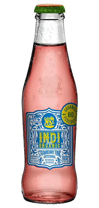 Indi Bio Organic Strawberry Tonic