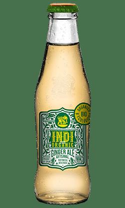 Soft Drinks Indi Ginger Ale Botella Organic