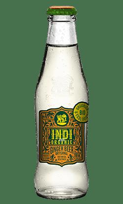 Soft Drinks Indi Ginger Beer Botella Organic